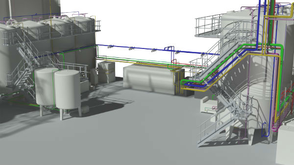 Stensbo har kompetancer til Rørdesign i 3D
